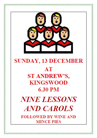 Nine Lessons and Carols 13.12.15