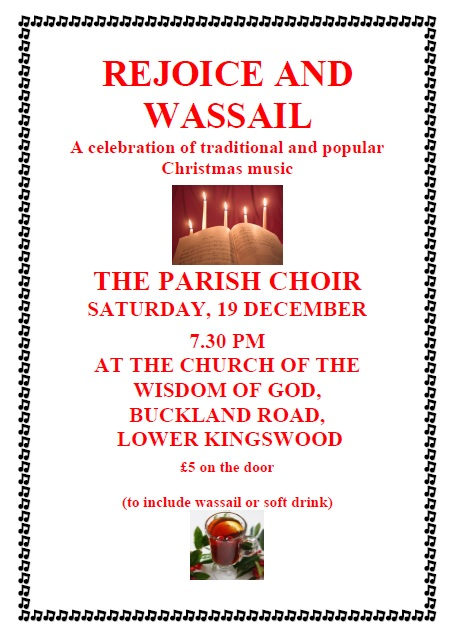 Rejoice and Wassail