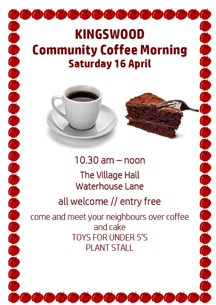 Kingswood Community Coffee Morning - April 2016